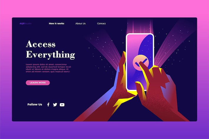 Thumbnail for Access Everything - Banner & Landing Page
