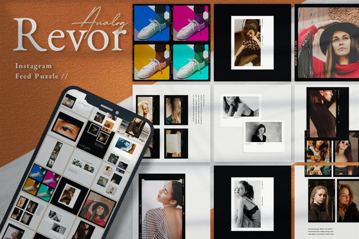 Thumbnail for Analog Revor Intagram Puzzle Template
