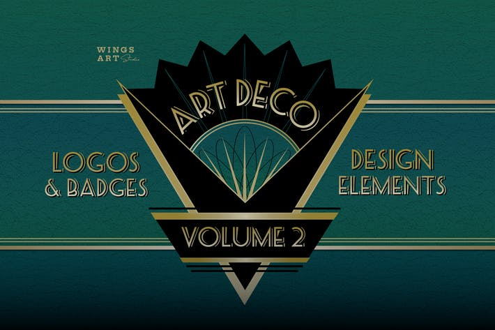 Thumbnail for Retro Art Deco Logo Collection Volume Two