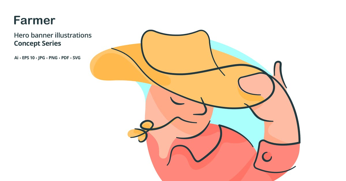 Download Farmer Occupation Vector Illustration by roundicons