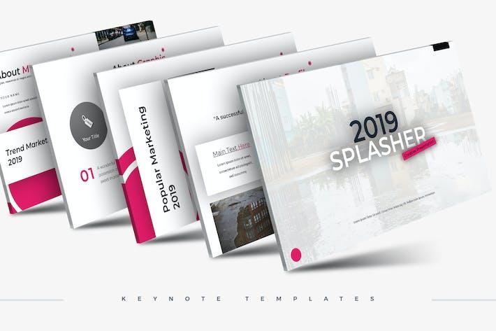 Thumbnail for Splasher - Keynote Template