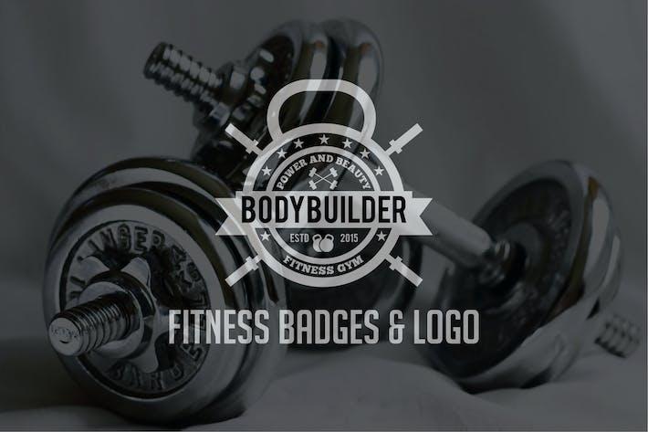 Fitness Badges & Logo