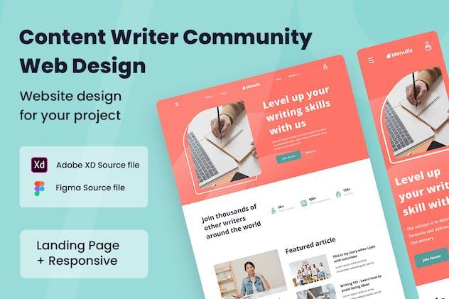 Content Writer Web Design