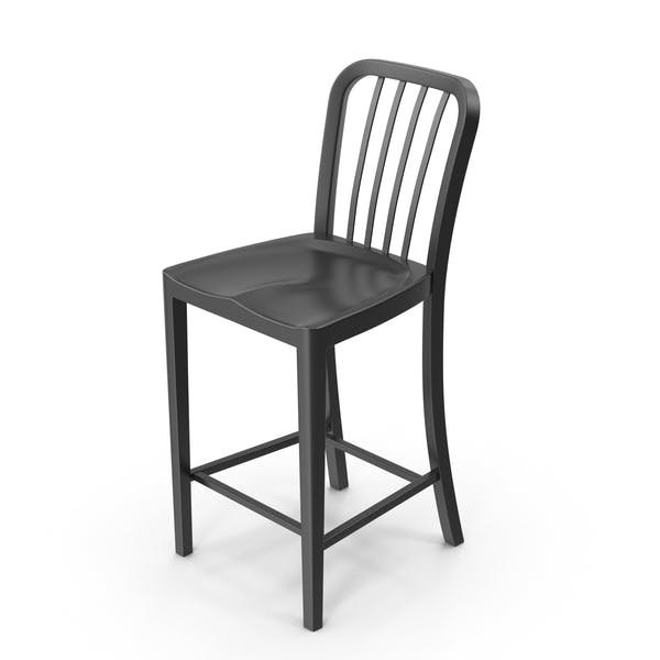 Cover Image for Black Bar Stool