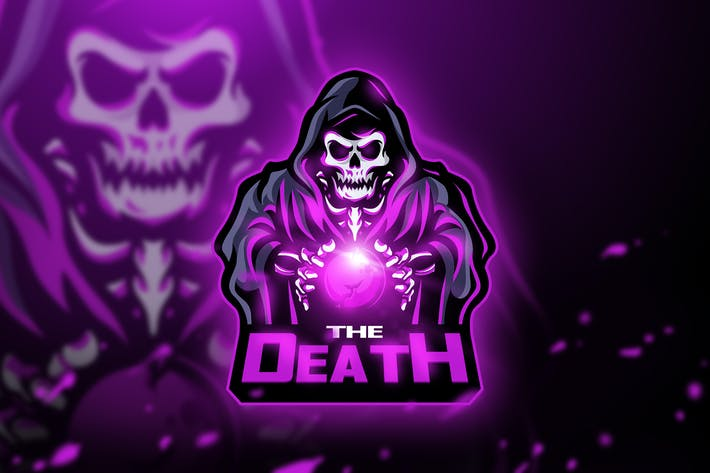 Thumbnail for The Death - Mascot & Esport logo