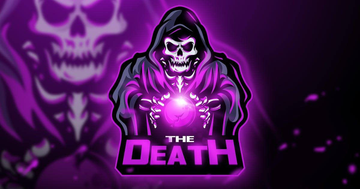 Download The Death - Mascot & Esport logo by aqrstudio