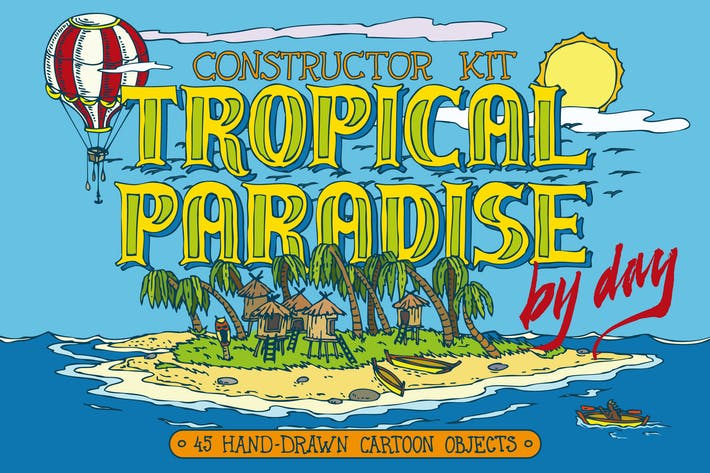 Thumbnail for Tropical Paradise Constructor Kit