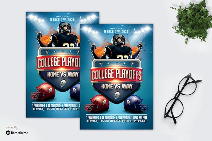 Thumbnail for American Football - Sport Flyer MR