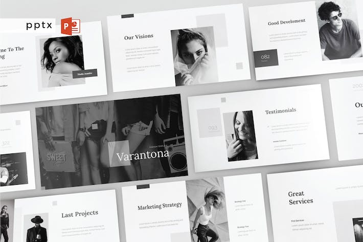 Cover Image For VARANTONA - Powerpoint Template V129