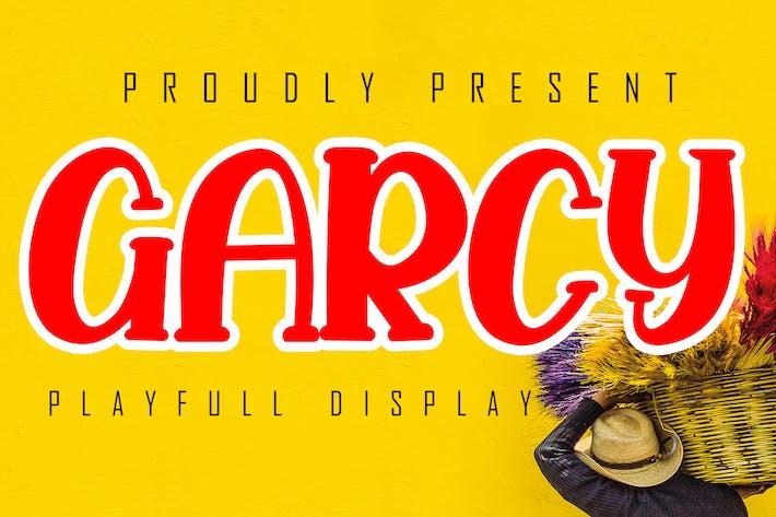 Thumbnail for Garcy Playfull Display