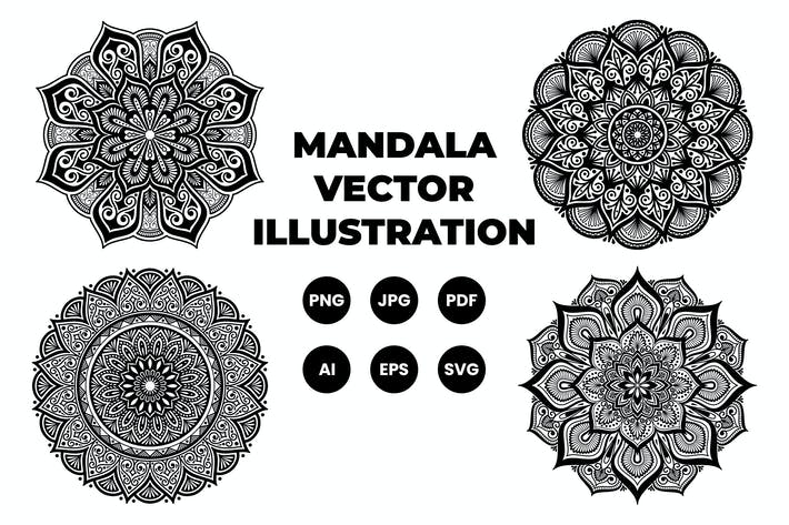 Thumbnail for Mandala Set 1