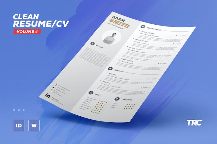 infographic resume cv volume 2 by paolo6180 on envato elements