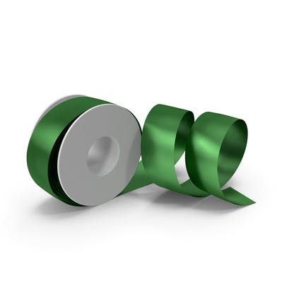 Green Foil Ribbon Spool
