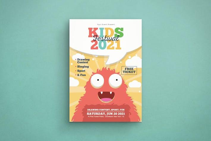 Thumbnail for Fest pour les enfants