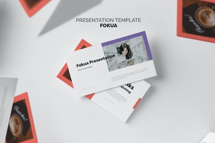 Thumbnail for Fokua : School Profile Google Slides