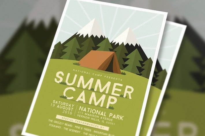 Thumbnail for Summer Camp Flyer