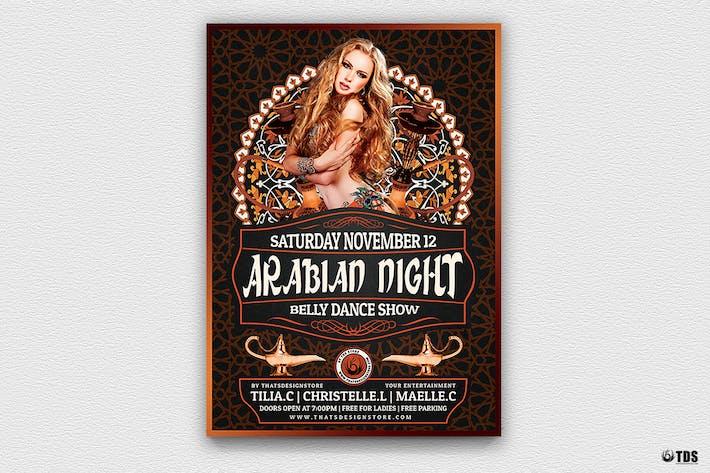 Thumbnail for Arabian Nights Flyer Template V2