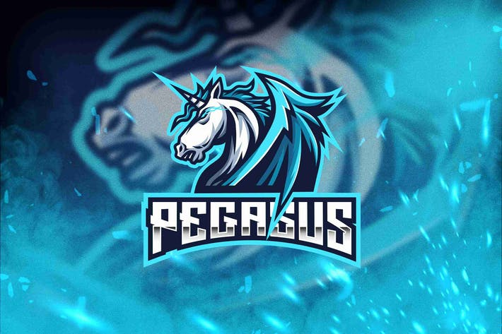 Thumbnail for Pegasus Esport Logo Template