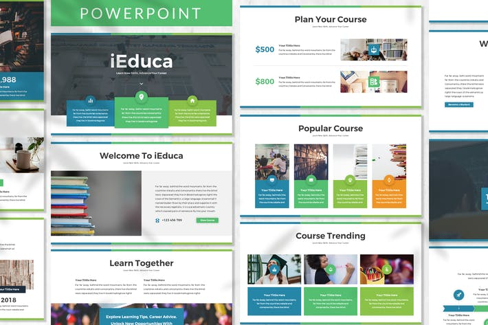 Thumbnail for iEduca - Education Powerpoint Template