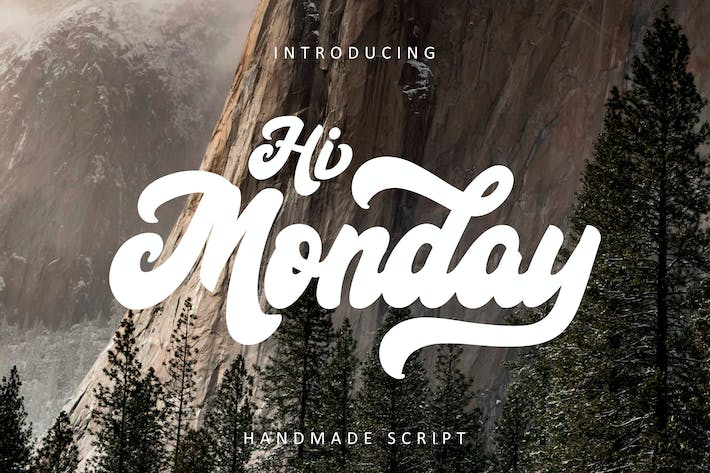 Cover Image For Hi Monday Script