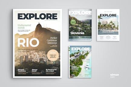 Explore – Magazine Template