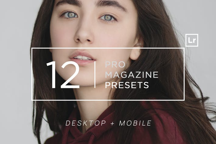 Thumbnail for 12 Pro Magazine Lightroom Presets