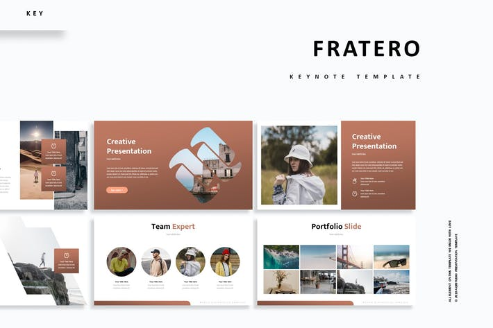 Cover Image For Fratero - Keynote Template