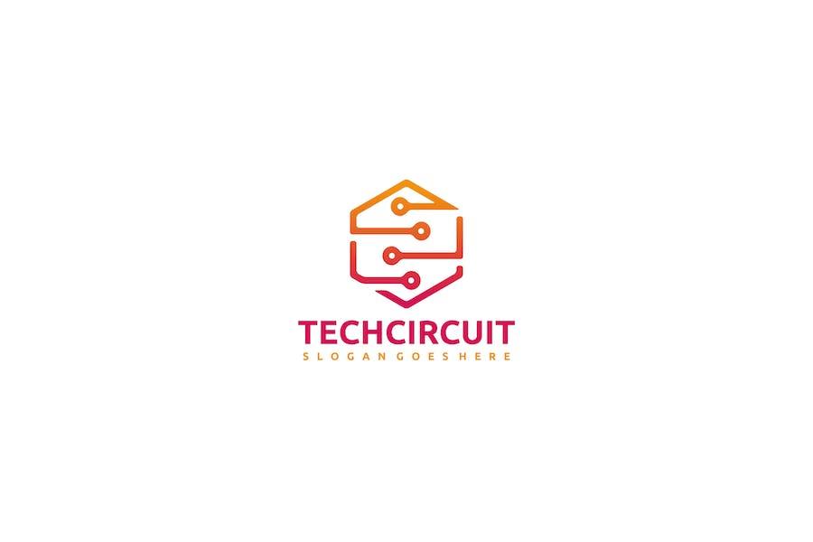 Tech Circuit Logo