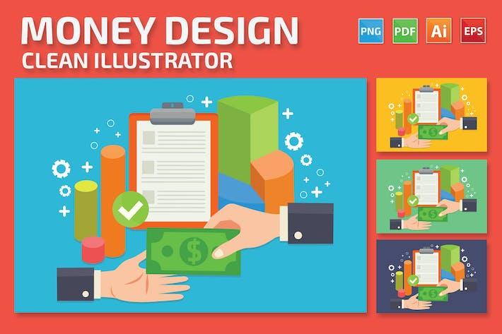 Geld-Design