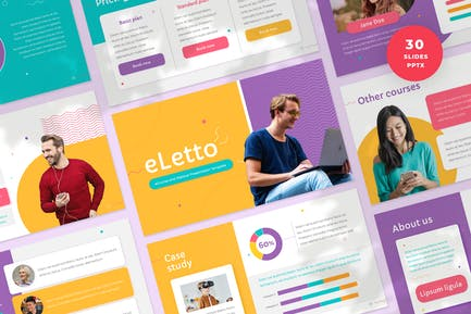 eCourse and Webinar Presentation Template