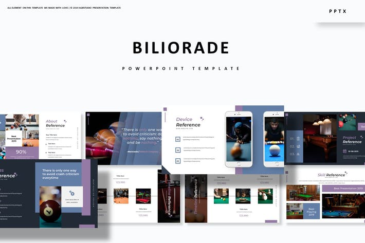 Cover Image For Biliorade - Powerpoint Template