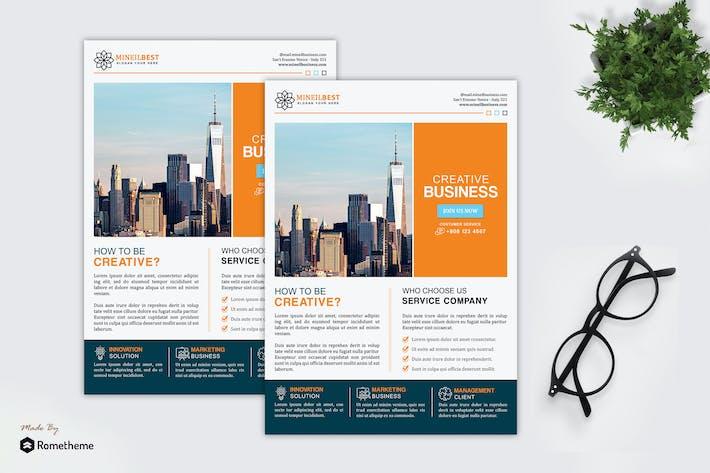 Thumbnail for Mineil - Creative Corporate Flyer HR