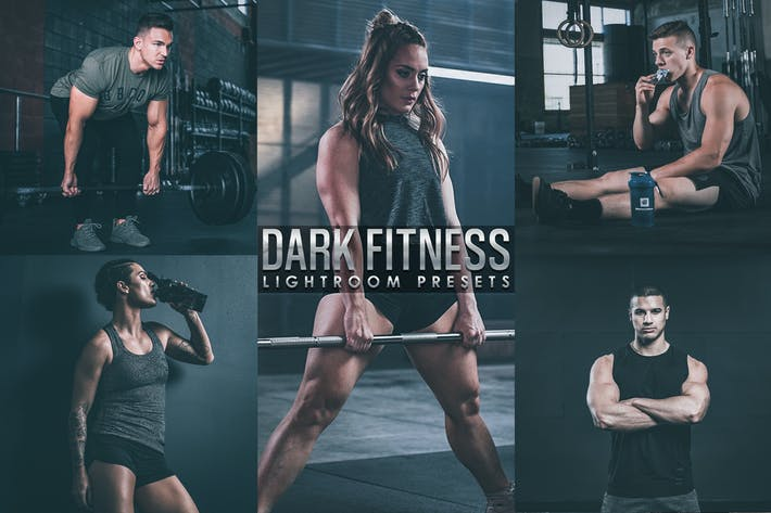 Thumbnail for Dark film Fitness lightroom Presetes