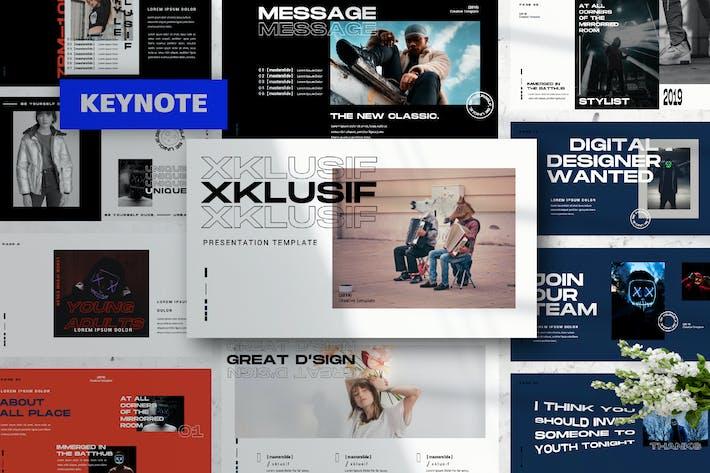 Thumbnail for XKLUSIF - Keynote