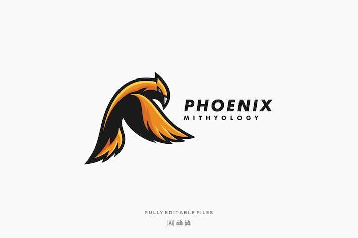 Thumbnail for Bird Phoenix Eagle Mascot Logo
