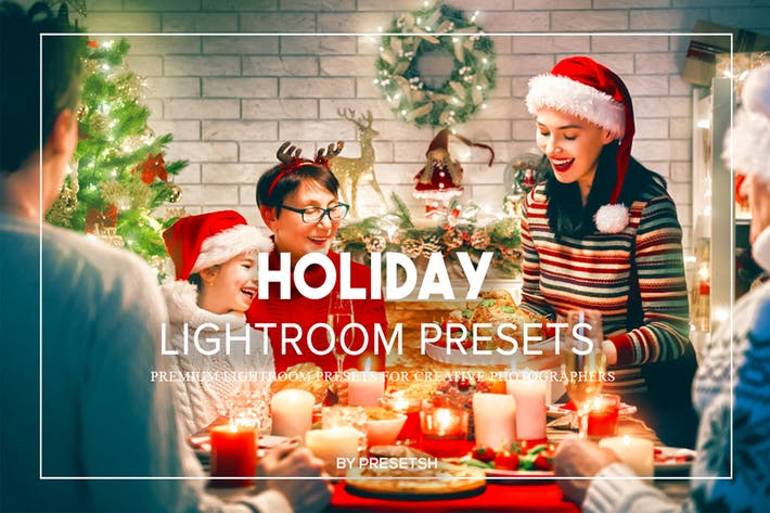 Thumbnail for Holiday Lightroom Presets