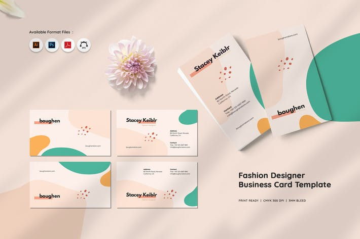 Thumbnail for Fashion Designer Business Card