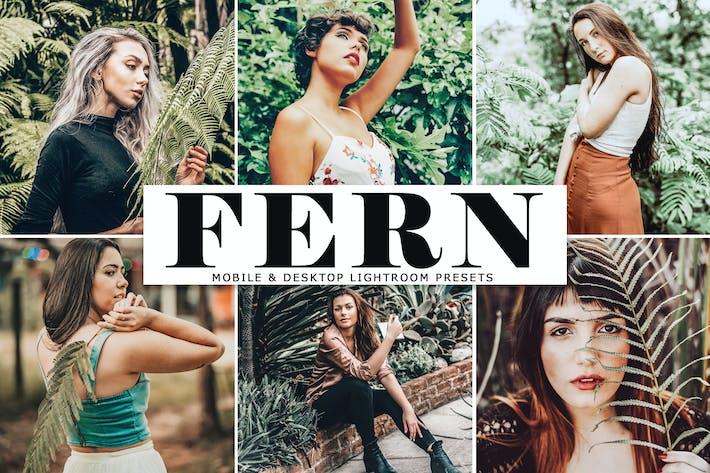 Thumbnail for Fern Mobile & Desktop Lightroom Presets