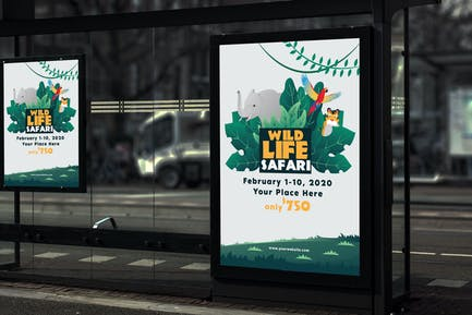 Wildlife Safari - Poster GR