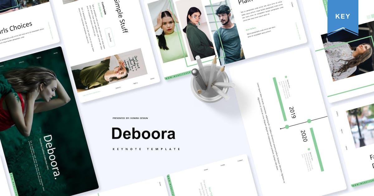 Download Deboora | Keynote Template by Vunira