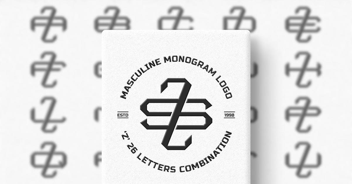 Download Z (A-Z) Monogram Logo Creator Pack Vol.4 by Farhan_Haikal
