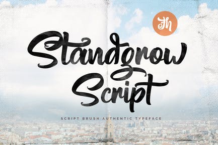 Standgrow - Script Font
