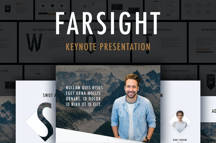 Thumbnail for Farsight Keynote Template