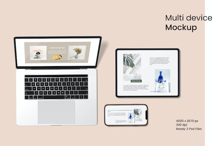 Thumbnail for Multi Device Mockup