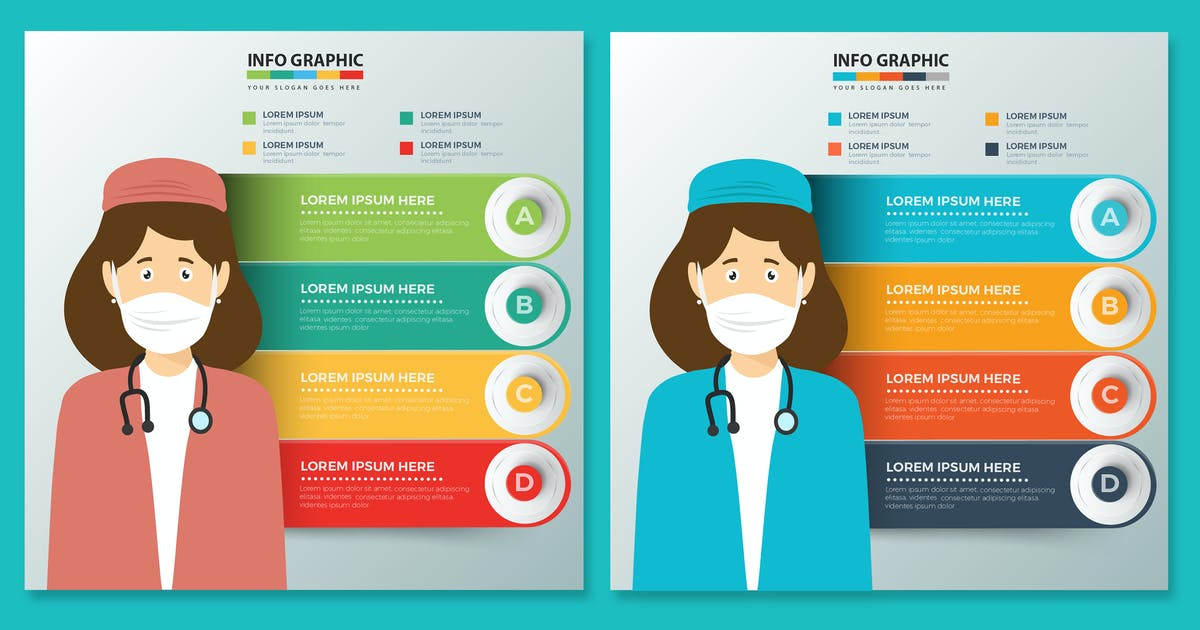 Download Health Care Infographics by mamanamsai