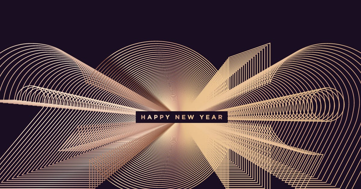 Download Business New Year Greeting Card by PureSolution