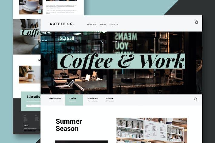 Thumbnail for Coffee & Restaurant - Website