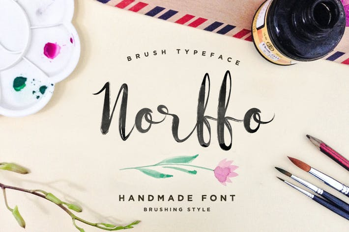 Thumbnail for Norffo Font