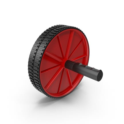 Ab Roller Wheel Red