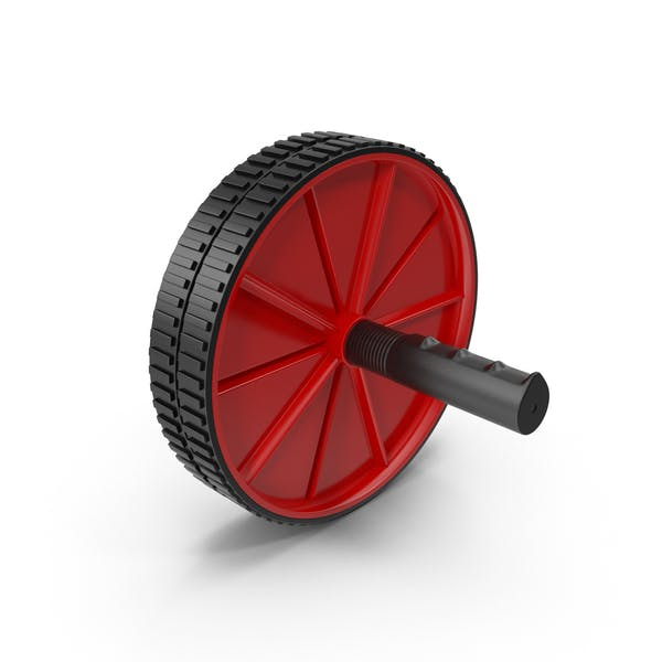 Thumbnail for Ab Roller Wheel Red